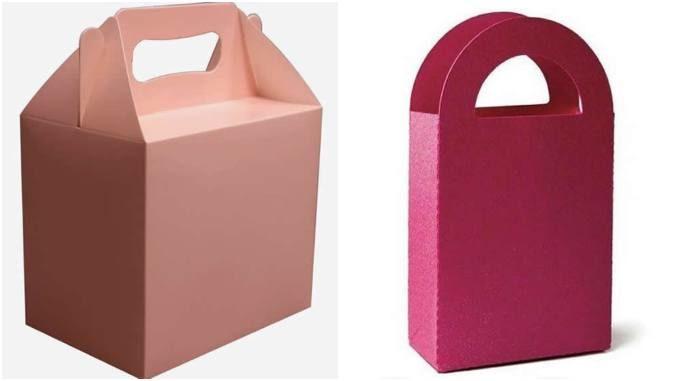 Caixas de papel para Dia das Mães com moldes