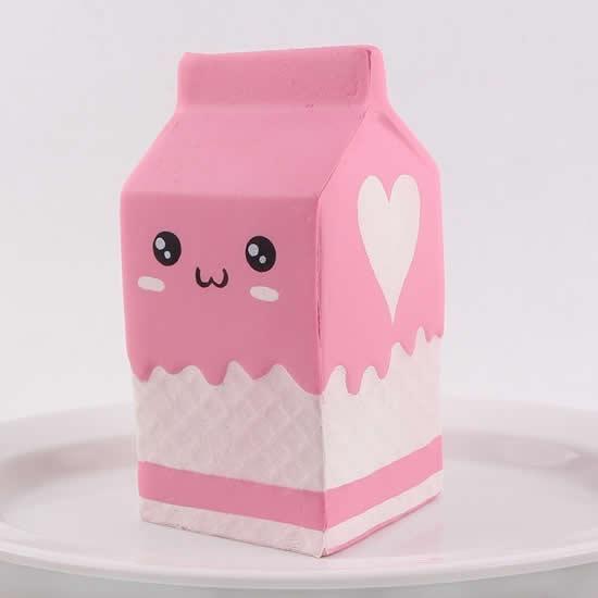 Caixa de leite com molde