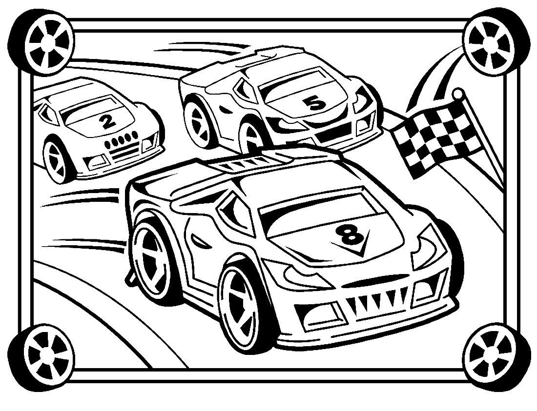 Imagem de carros para colorir