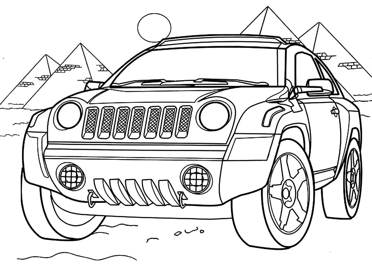 Lindo desenho de carro