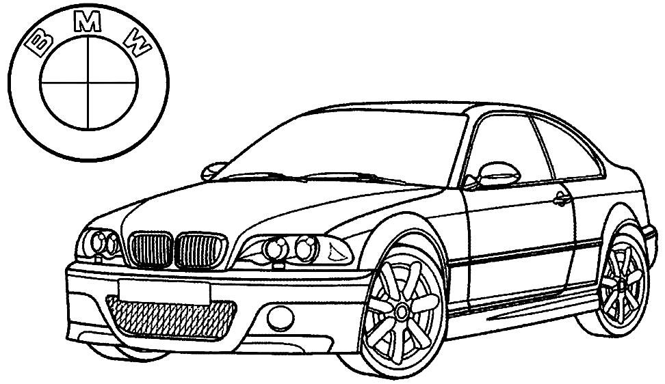 Imagem de carro BMW para pintar