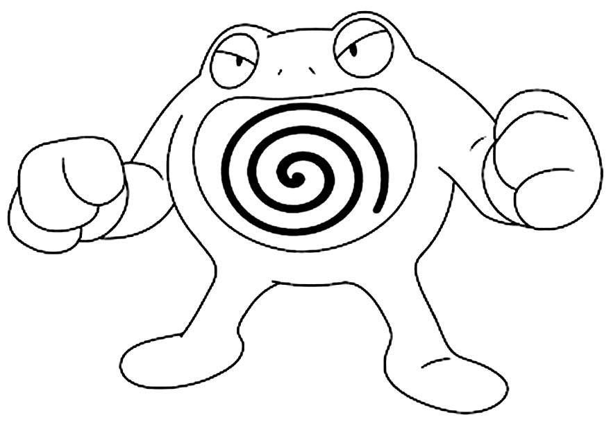 Imagem de Pokémon para pintar