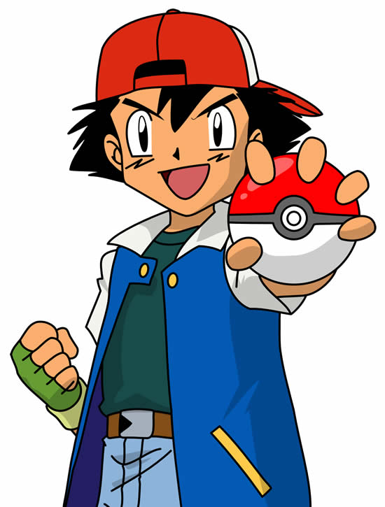 Desenho do Ash