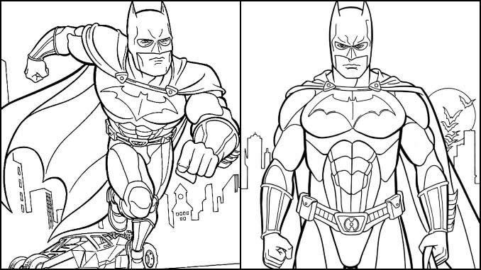 Desenhos Batman