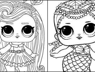 Desenhos Boneca Lol