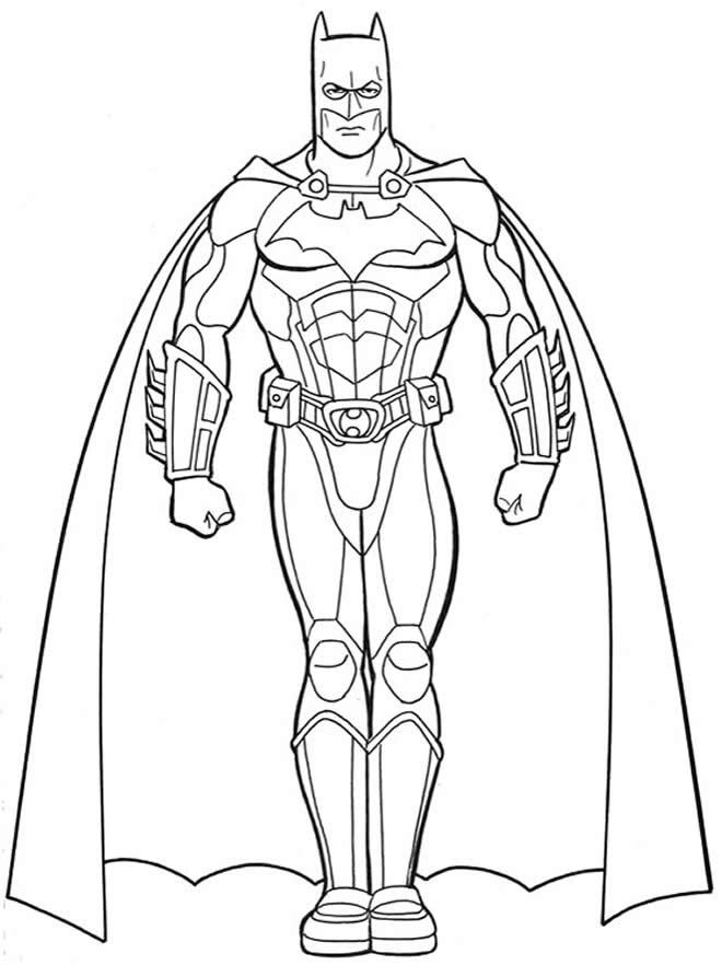 Imagem do Batman para pintar