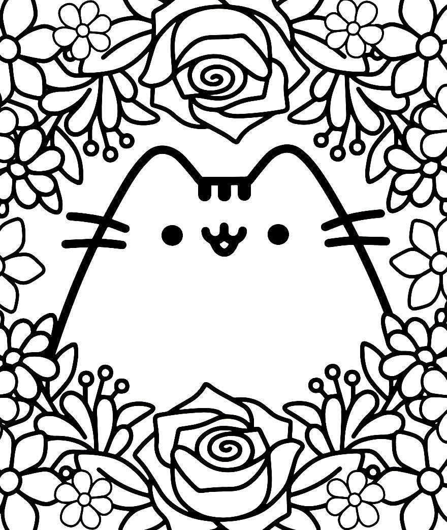 Imagem de Kawaii para colorir