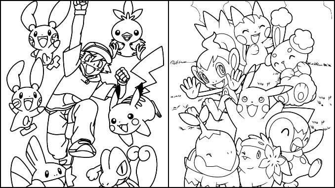 Desenhos Pokémon