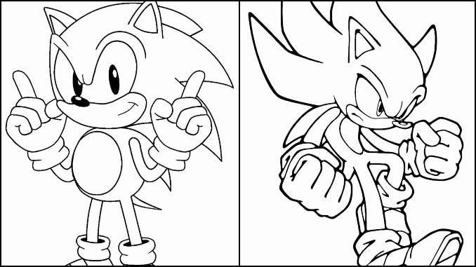 Desenhos Sonic