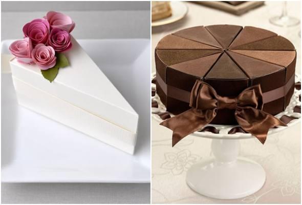 Molde de fatia de bolo para imprimir