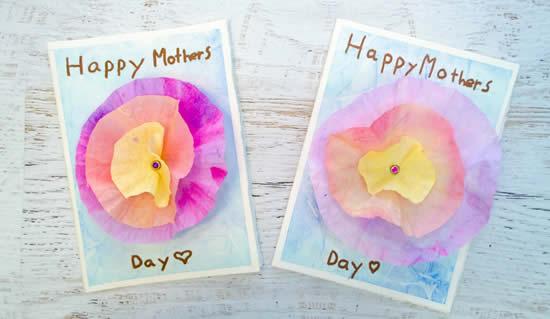 Cartões lindos para o Dia das Mães