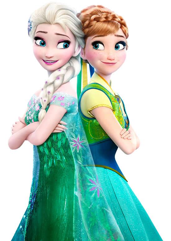 Desenho da Frozen