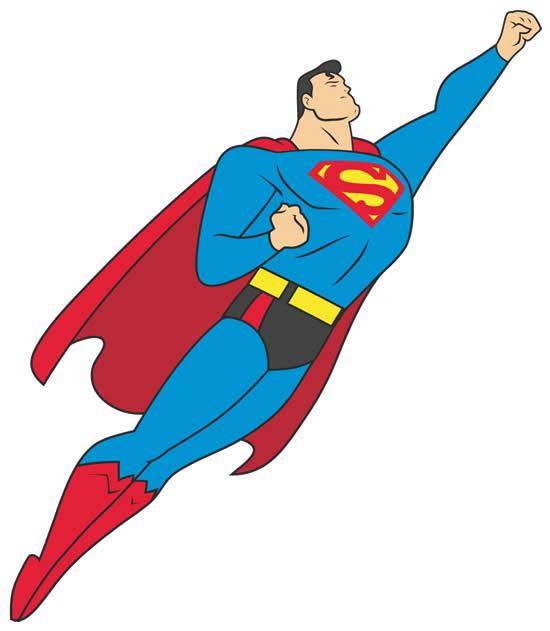 Molde do Super Homem