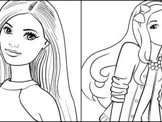 Desenhos Barbie