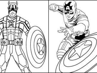 Desenhos Capitão América
