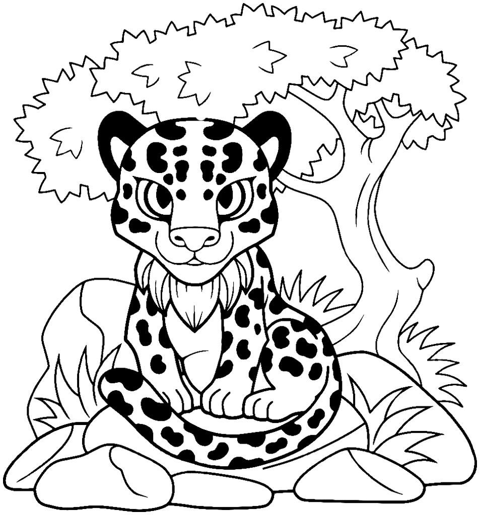 Desenho de tigre