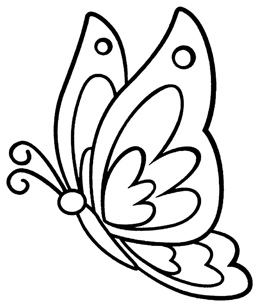Desenhos de borboleta para colorir