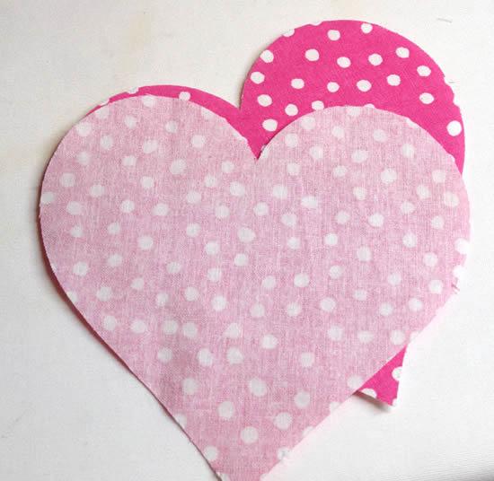 Coração de tecido