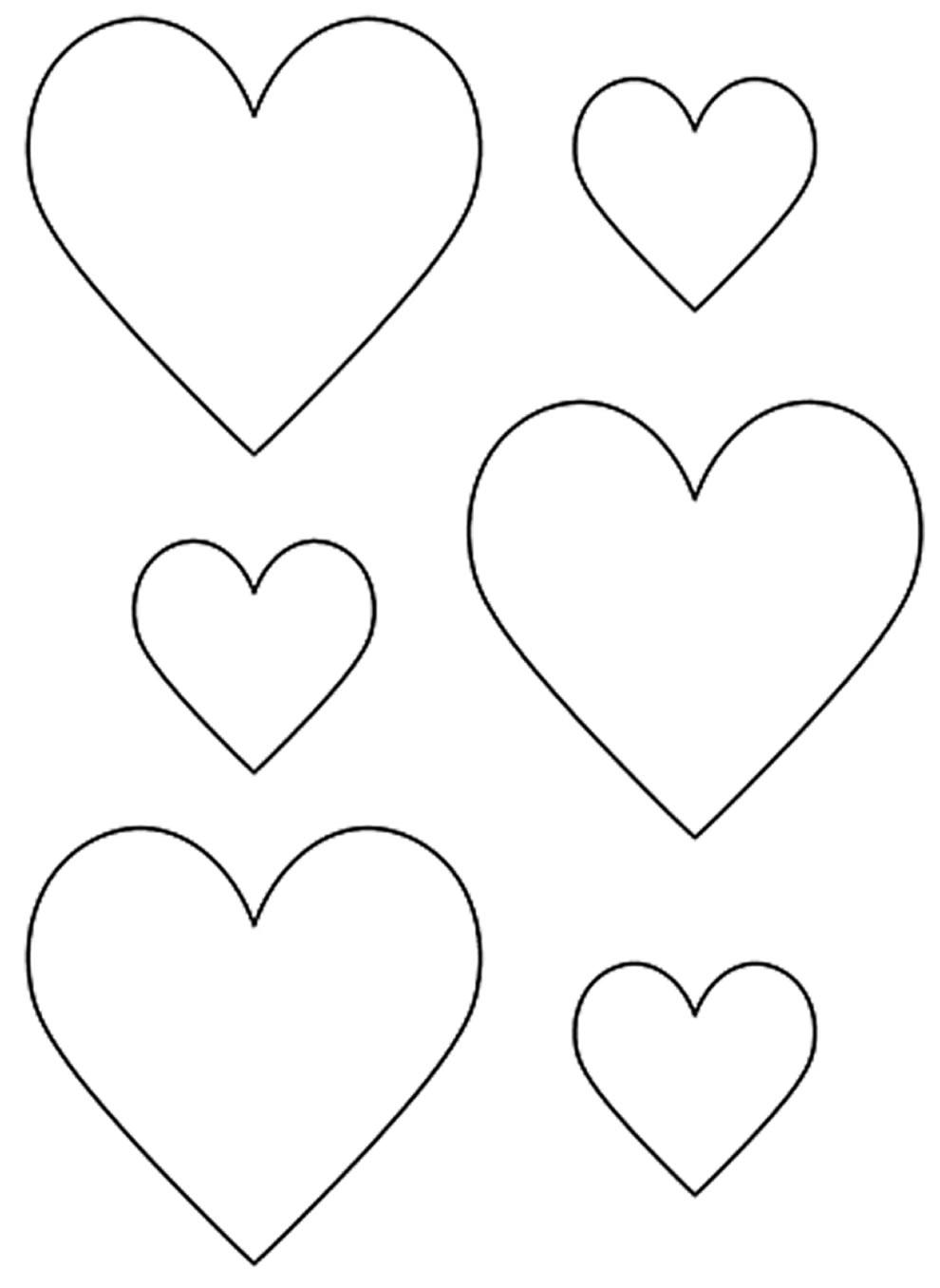 Molde de corações pequenos