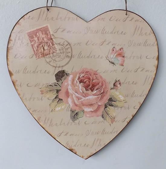 Artesanato de coração