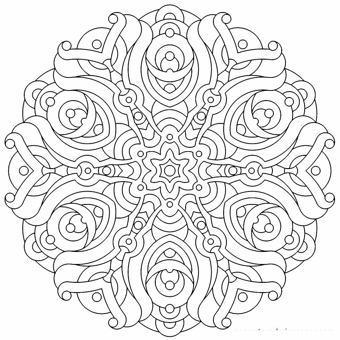 Desenho geométrico para pintar