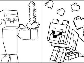 Desenhos Minecraft