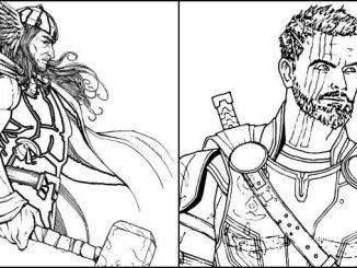 Desenhos Thor