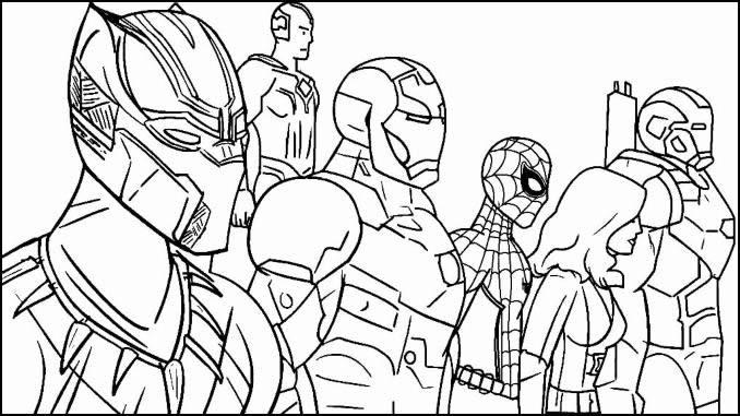 Desenhos Vingadores