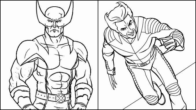 Desenhos Wolverine