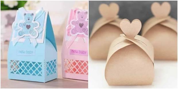 10 lembrancinhas de papel com moldes