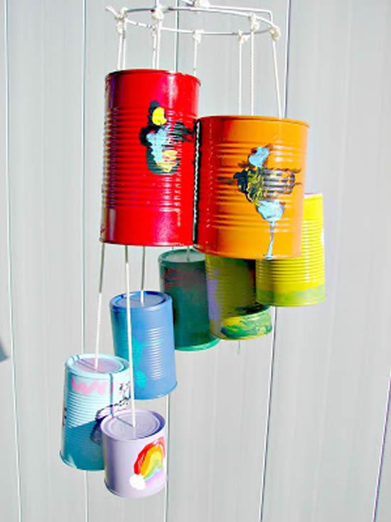 Ideias lindas com lata