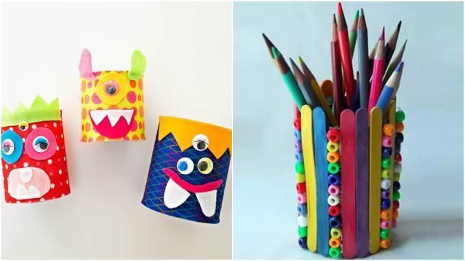 Artesanatos com latas para crianças