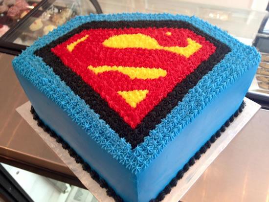 Bolo de Super-Homem para Dia dos Pais