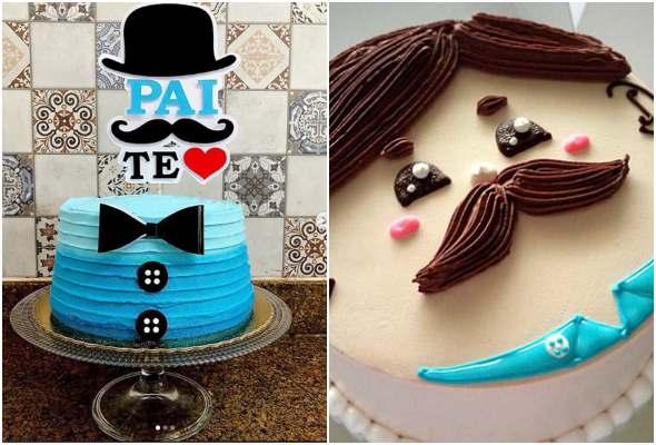 30 ideias de bolos para Dia dos Pais