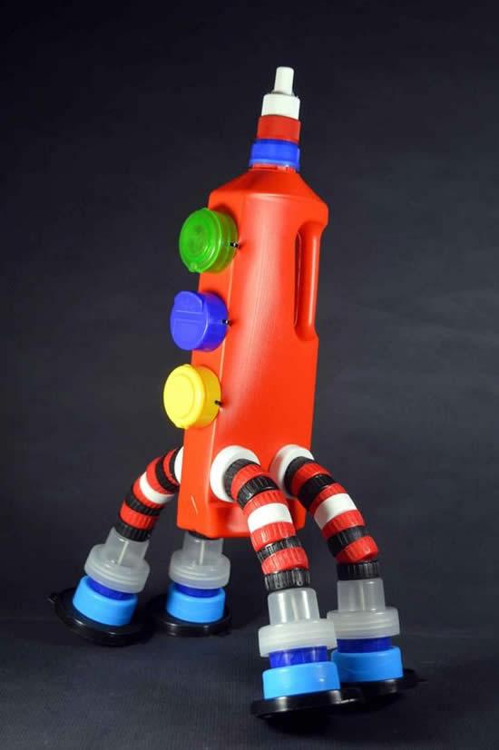 Artesanato criativo com garrafa PET