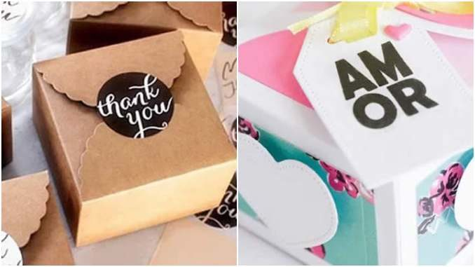 10 modelos de caixa de papel para presente