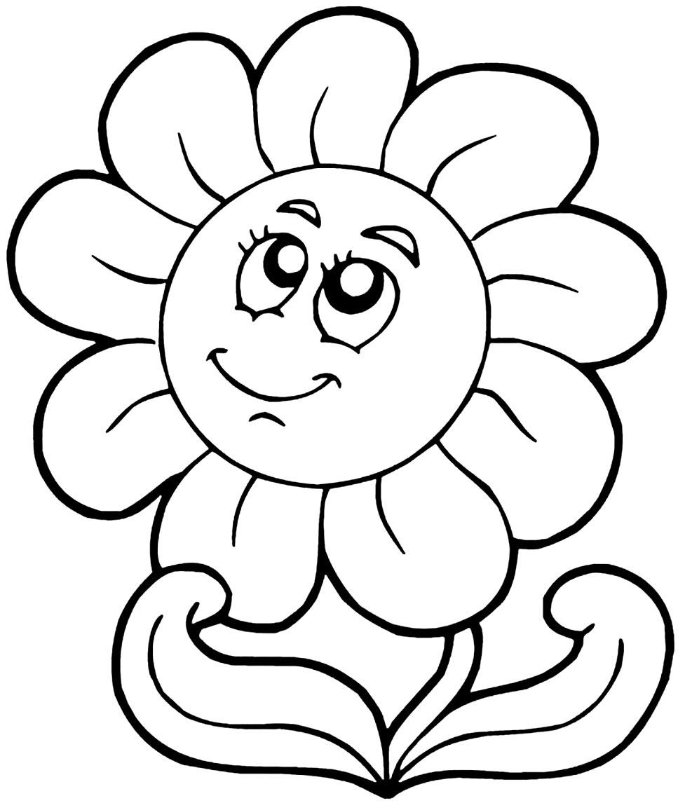 Desenhos de girassol para pintar