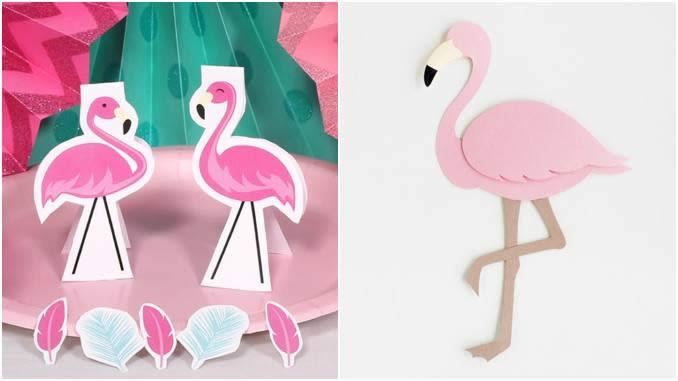 Flamingo moldes