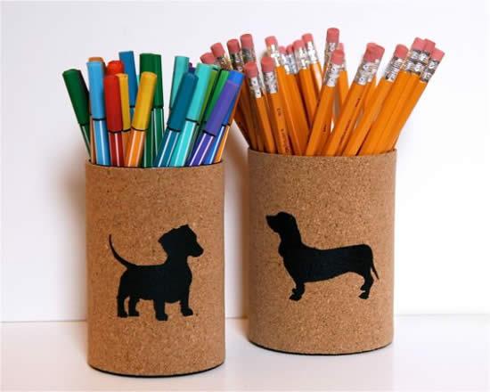 Artesanatos lindos com latas para fazer em casa