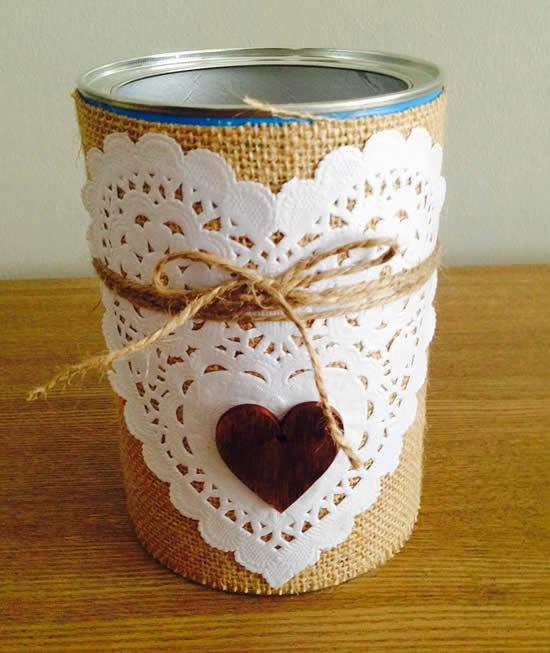 Dicas para fazer artesanatos com latas