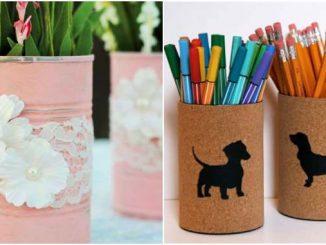 40 ideias para decoração com latas