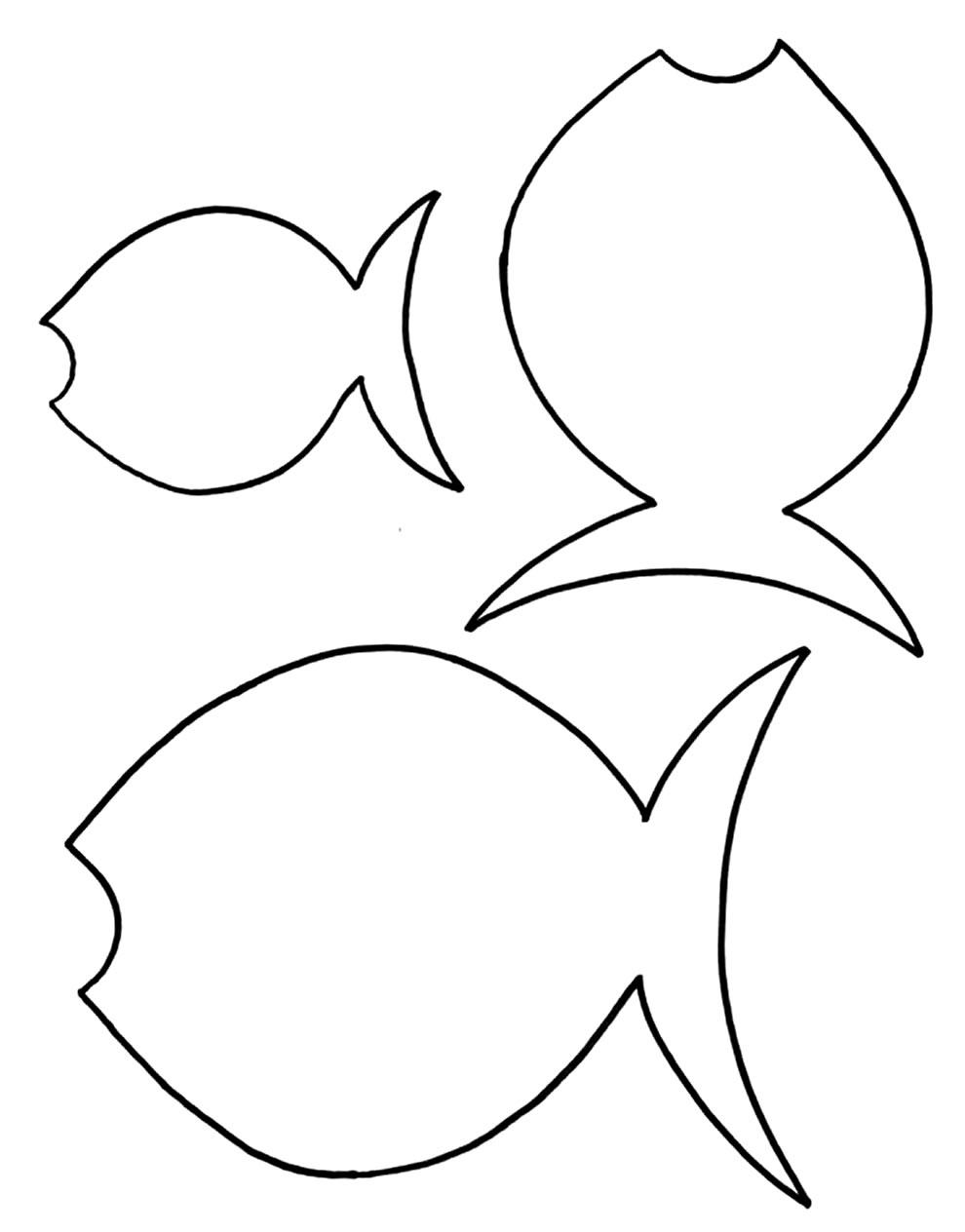 Moldes de peixes