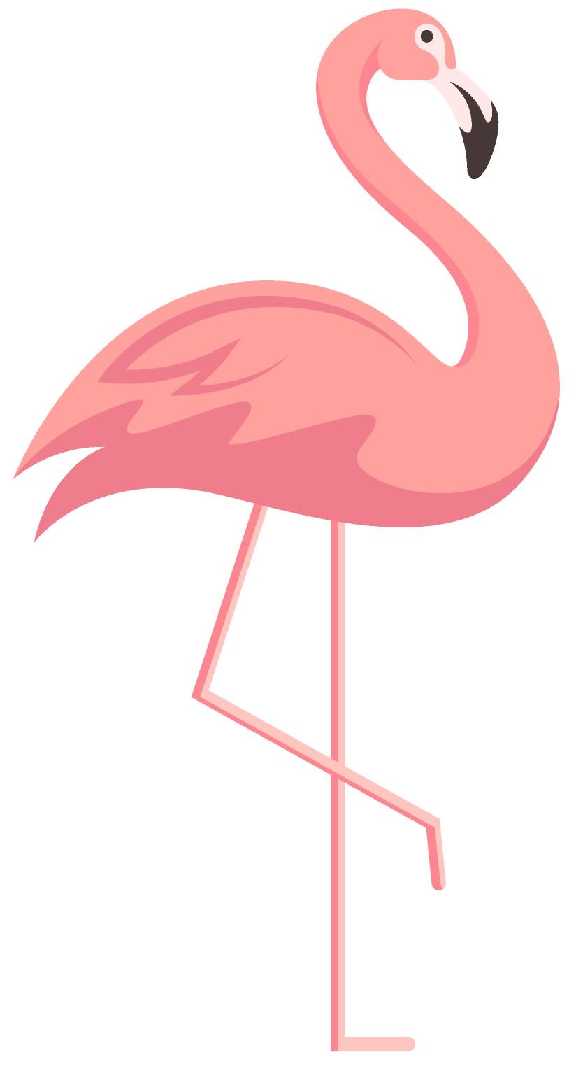 Molde de flamingo rosa