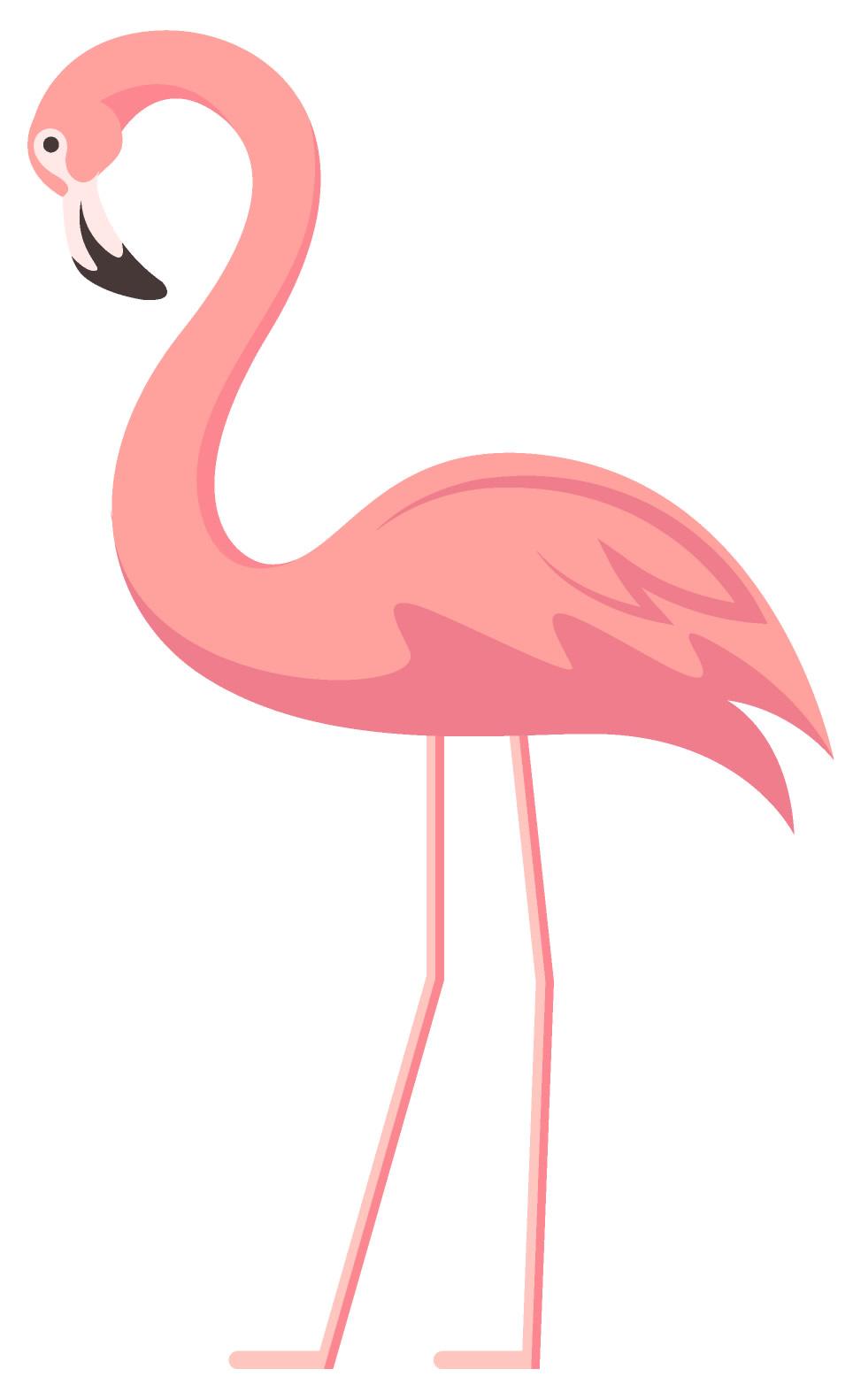 Molde rosa de flamingo