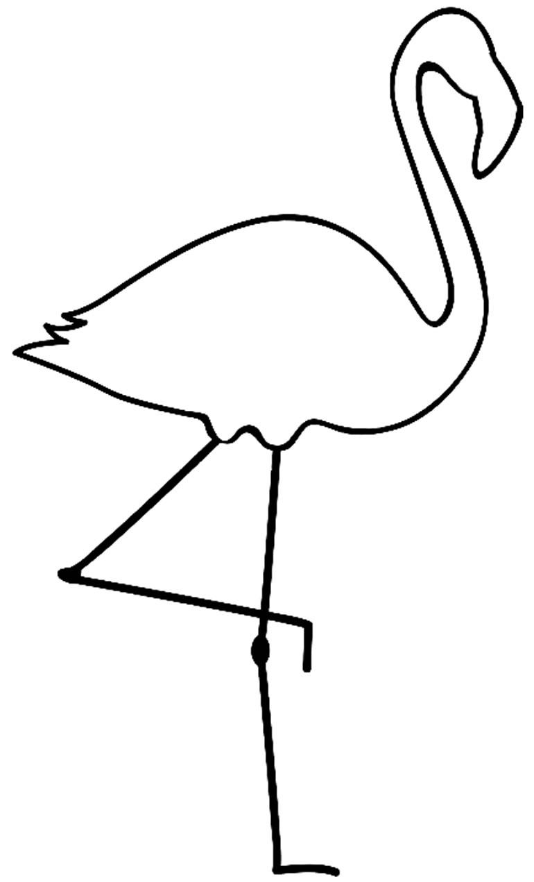 Molde de flamingo