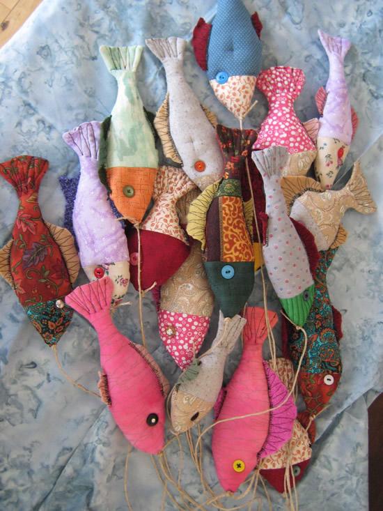 Peixinhos de tecido