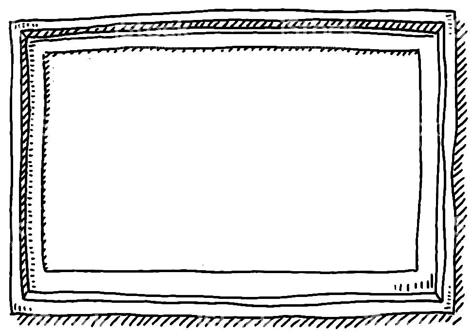 Molde de moldura de foto