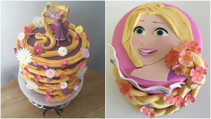 20 ideias de Bolo da Rapunzel