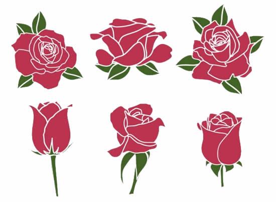 Desenhos Lindos de Rosas