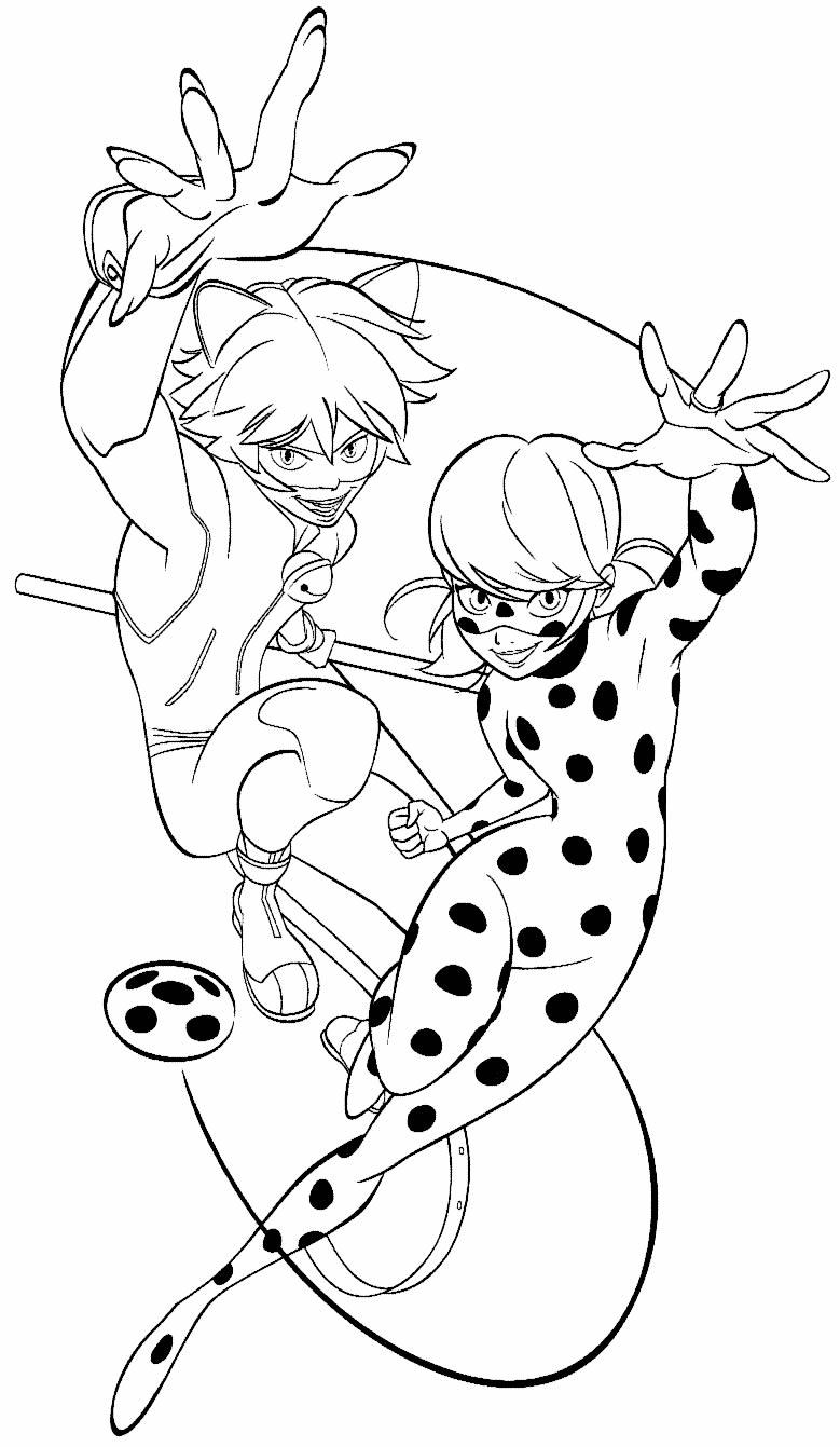 Desenho de Ladybug para colorir